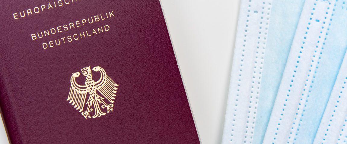 passport and mask