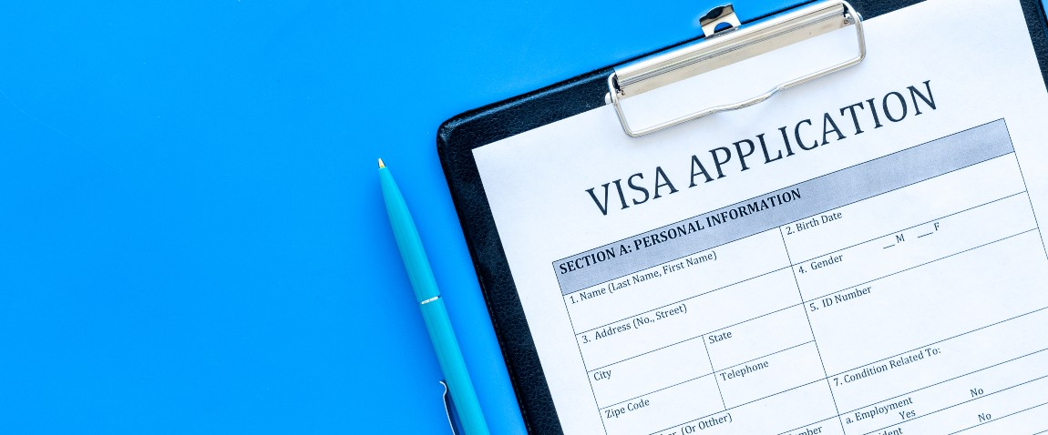 registration of visas