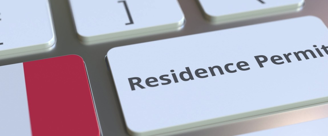 residence permit text
