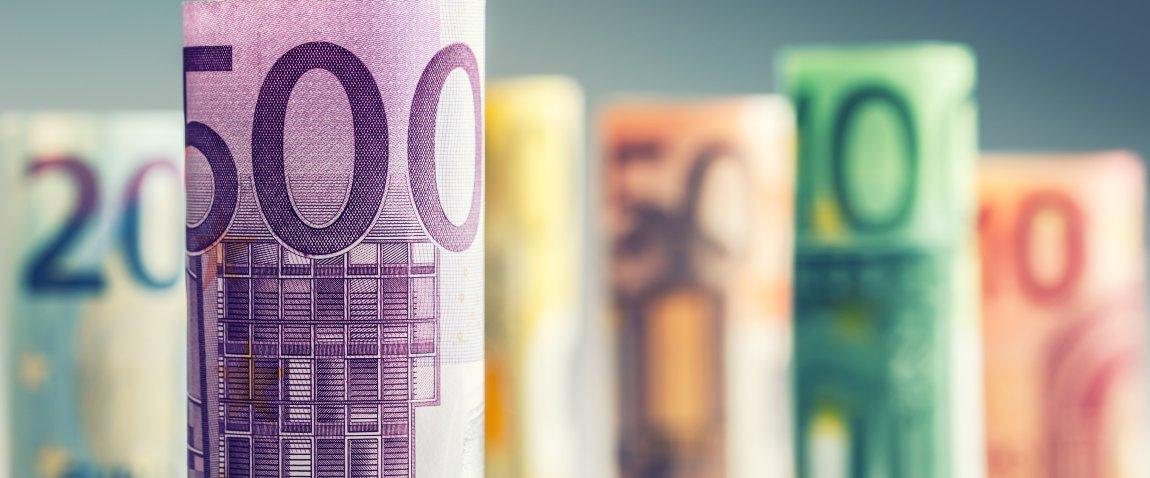 ruloni banknot evro