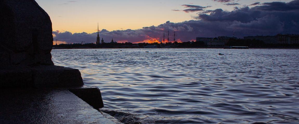 Saint Petersburg embankment
