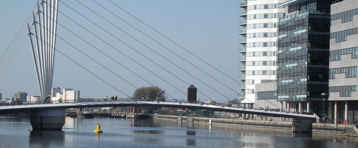 salford quays footbridge