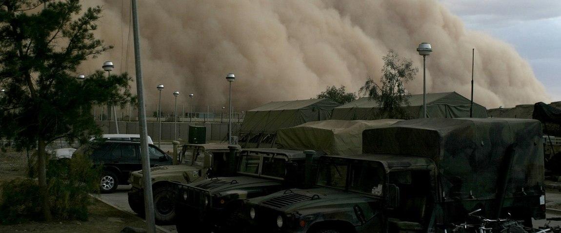 sandstorm military