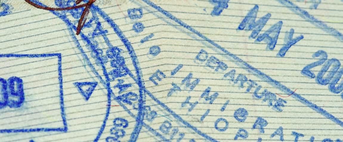 shtamp efiopiyi na pasporte
