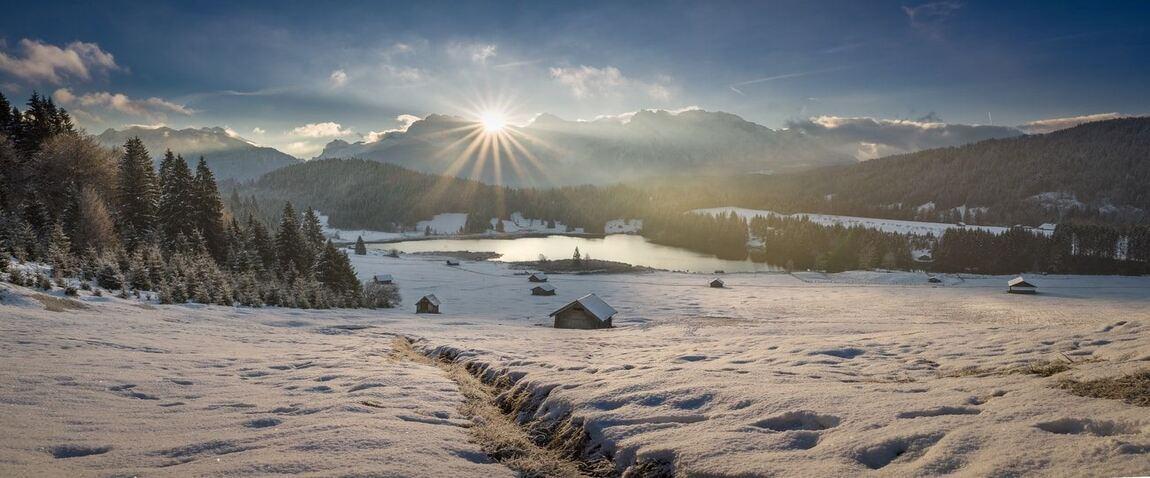 Sneg v Germaniyi