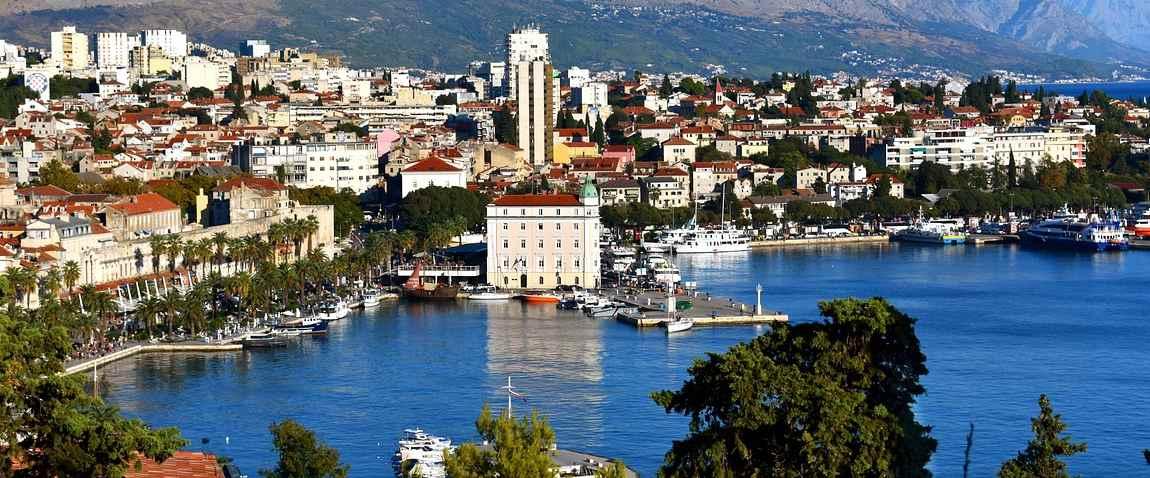 view of split city