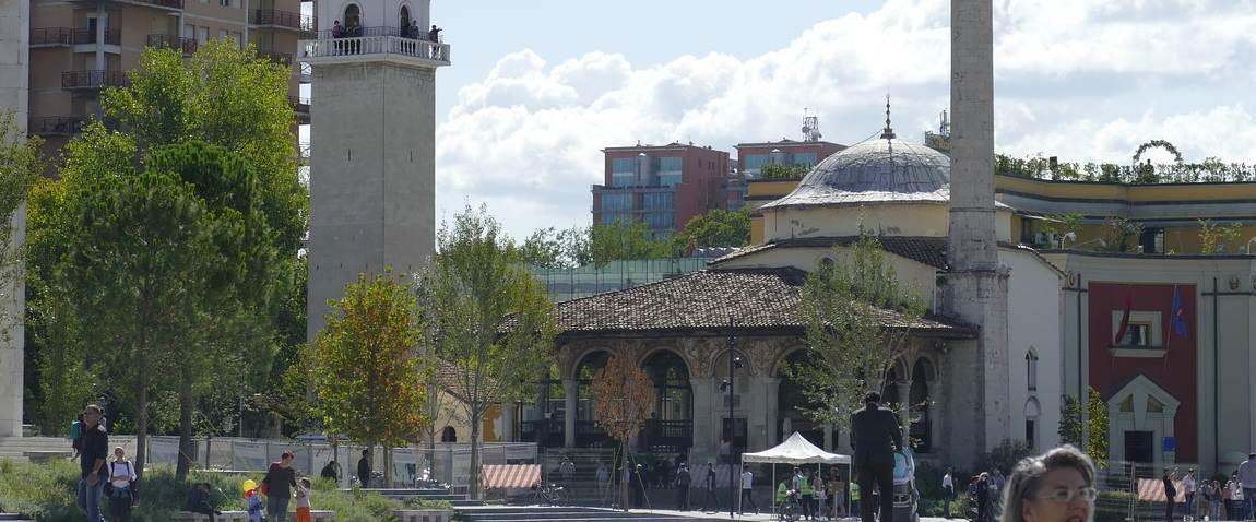 stolica albaniyi