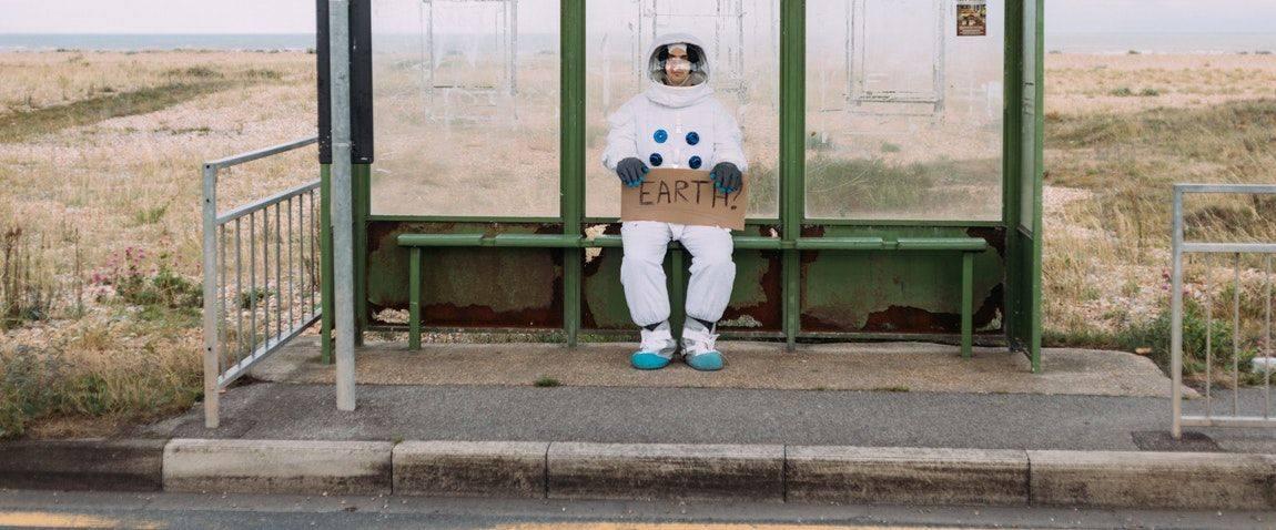 strange cosmonaut