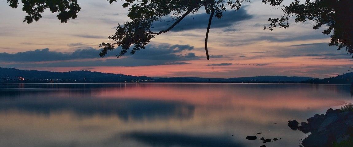 swiss sunset