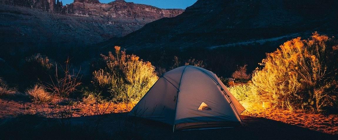 remote campsite
