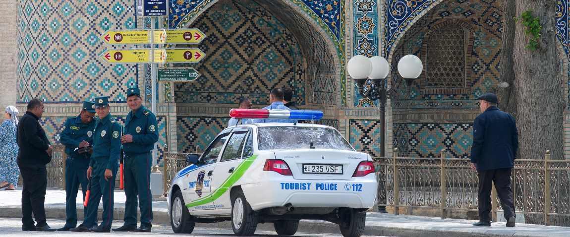 tourist security car
