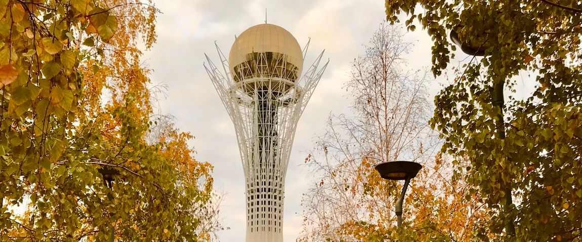 tower in nur-sultan