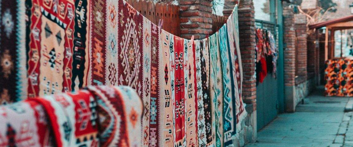 national carpet of turkmenistan