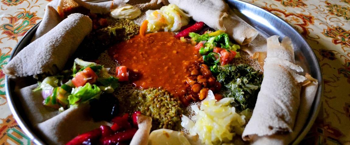 traditional ethiopia food