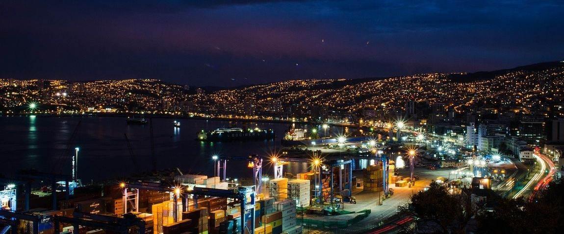 valparaiso night