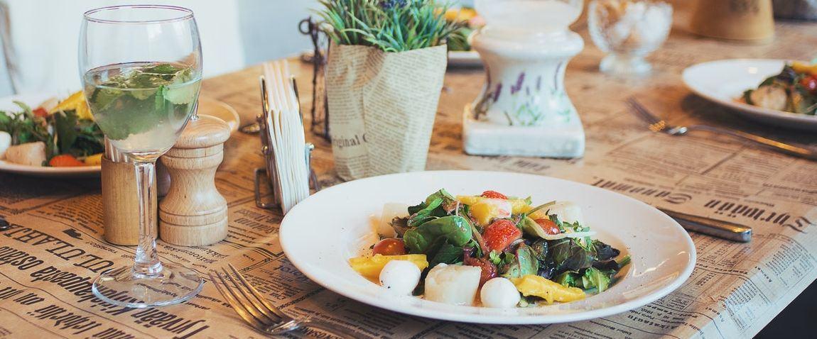 vegatables restaurant dish