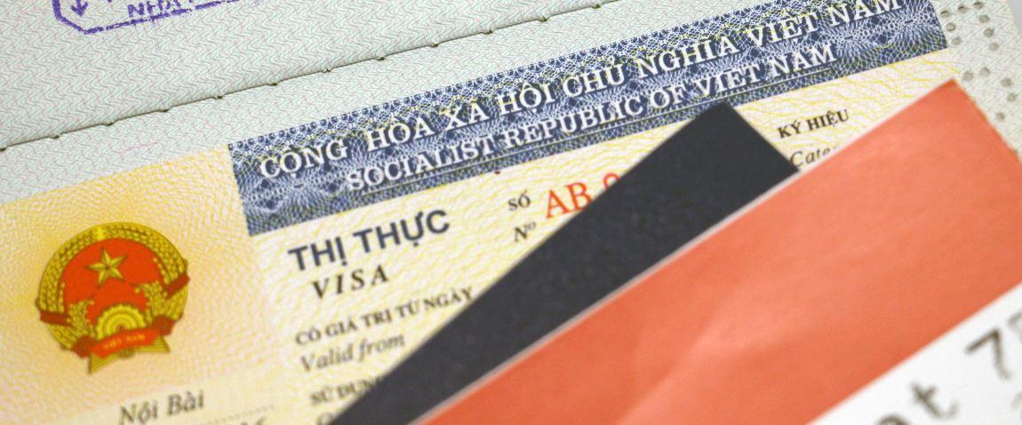 vietnamese visa sticker