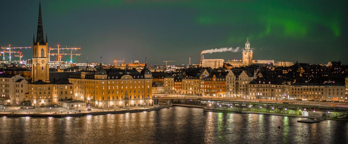 stockholm view from monteliusvagen