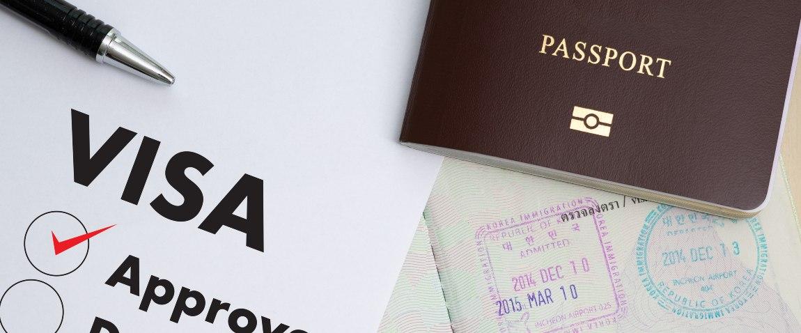 visa application form approved passport