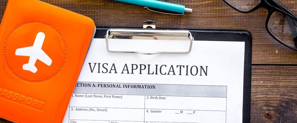 visa processing visa application form