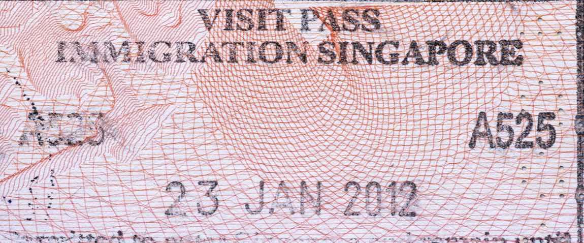 singapore visit pass