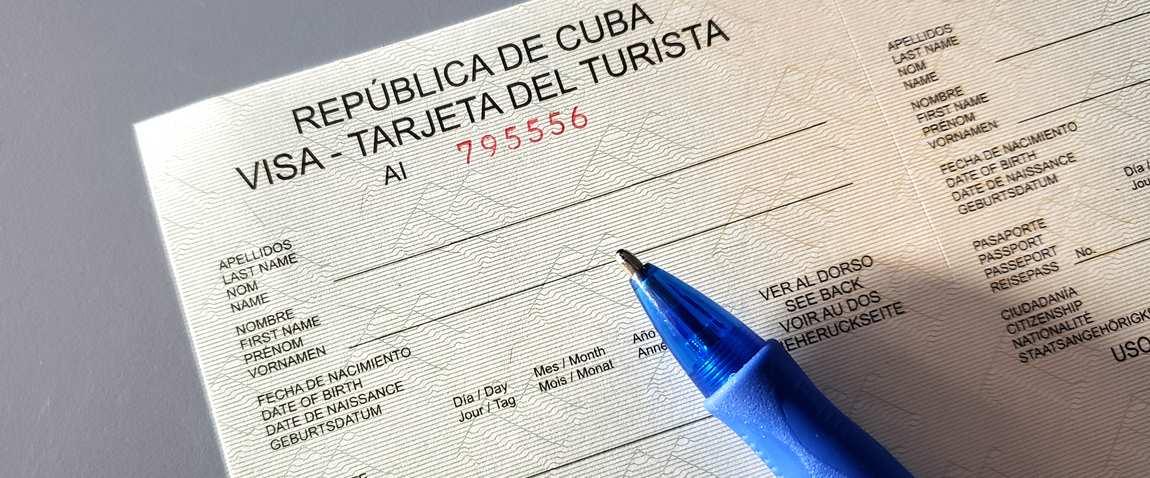 visa for entering cuba