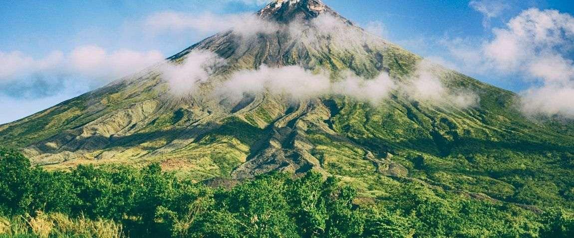 volcanic mountain