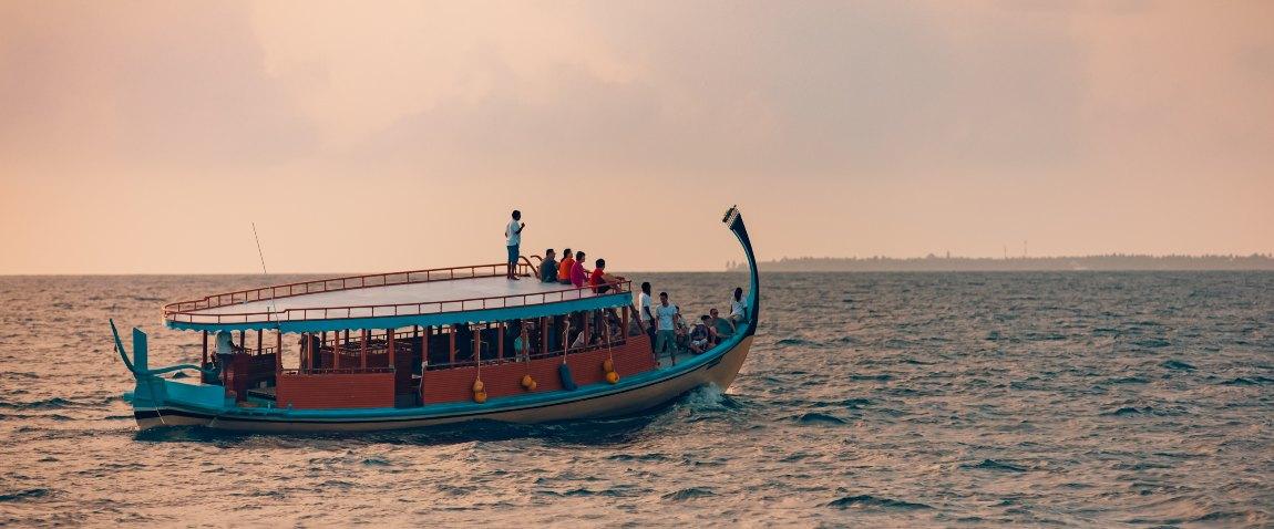 wonderful maldivian boat